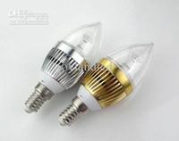 Wholesale E12 E14 E27 Led Candle bulbs Lamp x3w W Dimmable led lighting V V Led Bulbs