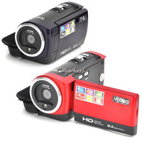 Wholesale anti shaking digital Camera Full HD mp DVR Sport DV X ZOOM sound support screen Digital Camcorders