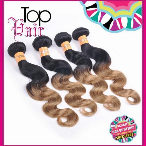 Brazilian Hair Extensions Human Hair Curtain Gradient 100% Human ...