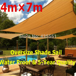 Wholesale 2014 New Arrival Direct Selling Custom Tailored Water Proof Shade Sails for Playground Colors mx7m