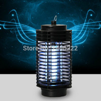 battery insect killer - V Electric Mosquito Fly Bug Insect Zapper Killer With Trap Lamp