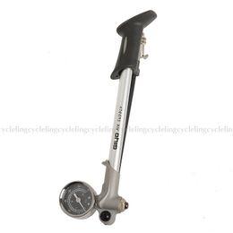 Wholesale GIYO Bicycle Road Bike MTB Porable Pump Foldable Shock Pump With Lever Gauge
