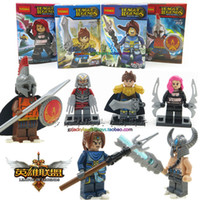 Wholesale New Building Blocks Toys Minifigures LOL assembling toys Superheroes Alliance Galen Zhao letter robbery Poon Man Wang Carter Action Figures