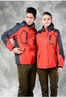 Wholesale New New Couple Clothing for Traveler Tourism Women Men Light Weight Jacket Multicam Hooie Rain Waterproof Pink Color
