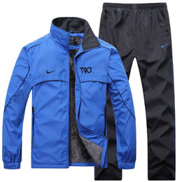 Wholesale 2014 Brand men jacket Sweatshirts sets sports tracksuit spring autumn winter sportswear leisure sport suit