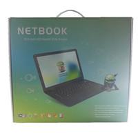 Wholesale New arrival Android Netbook Slim Mini Laptop VIA8880 Inch GB ROM GB RAM Dual Core GHz Webcam HDMI RJ45 USB Wifi Bluetoot Silive