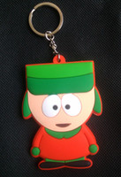 Wholesale Cartoon South Park keychain keychains dolls New Styles to Choose