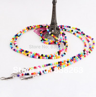 beaded dog leads - Fashion pet beaded leading Acrylic beads dogs puppy leash Pet outdoor new design suppliers