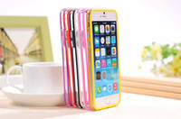 Wholesale - 2014 NEW Frame case for iPhone 6 Soft TPU Gel Si...