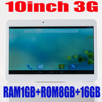 Cheap 20pcs per lot 10inch 3G tablet Phone call tablet mtk6572 dual core Android 4.2 1G RAM 8G ROM with 3g bluetooth Built in sim card slot phone