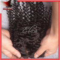 Cheap Brazilian Hair Cheap Closure Best Natural Color Curly silk base closure