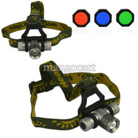 Wholesale CREE Q5 LM LED Mode Zoomable Headlight Torch Light Head Lamp TK0381