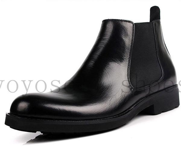 Mens black ankle boots sale