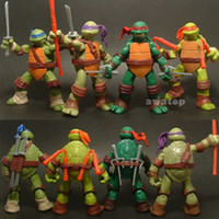 Wholesale 4 pieces new Teenage Mutant Ninja Turtles Action Figure tmnt Toy Model for the boys Gift