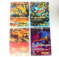 magic english - Pokemon cards exs magic card game set English charizard Toxicroak pokemon cards ex version for collection battle card