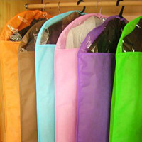 Wholesale candy color design suit bag high quality suit cover garment bag Canvas Suit Bag