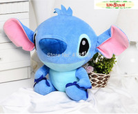 Cheap 2014 NEW Genuine Original 50CM Super arge Lilo and Stitch Plush Toy Dolls Doll Stuffed Animal Pillow Gift for Kids and Girls