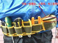 Wholesale Hardware Mechanic s Canvas Tool Bag Belt Utility Kit Pocket Pouch Organizer