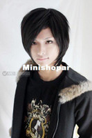Wholesale Cool2day Izaya Orihara Costume Short Black Party Cosplay Wig JF010779