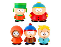 Cheap New 2014 Free shipping Wholeasle high quality 5 PVC South Park Action Figure Dolls,PVC figure toys hot selling items