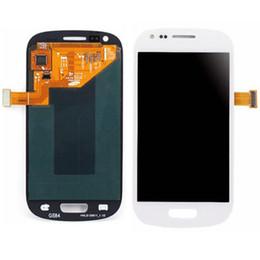 Promotion écran tactile pour samsung 5PCS écran LCD d'assemblage écran tactile + Digitizer remplacement pour Samsung Galaxy S3 i9300 i747 i535 blanc bleu