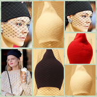 Wholesale 2014 COLORS new Women Elegant Veil Dots Knitted Winter Beanie Fashion Women veil solid warm hats knitted hat Hand woven cap TOPB383