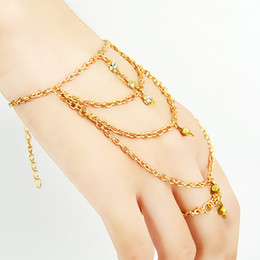 New Coming Chain Bracelets for Women with Ring Women Fashion Jewelry