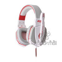 Wholesale Gaming Headset G4000 Stereo Gaming Headset Noise Canceling Headphones with Mic Headband Volume Control for PC Games PS3 V765