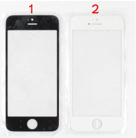 Wholesale For iPhone S C Front Outer Glass Screen for iphone S C Digitizer Touch Screen Cover Without Flex Cable