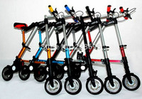 Wholesale Patented product Folding bike Mini Portable BMX Road Cycling Bicycle tour kg Tire Free inflatable seconds to fold HOT