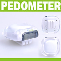 Wholesale New LCD Pedometer Walking Step Distance Calorie Counter Multifunction Digital Sport Fitness Equipments