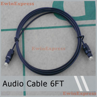 Wholesale Hot New x M Digital Optical Fiber Optic Toslink Audio Cable FT for Movies