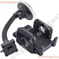 Cheap 2x Universal Car Phone Holder Windshield Dashboard Mount Stand For PSP  cell phone  PDA  iPod  iPhone Free Shipping