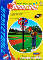 Cheap Kids Boy Girl Basket Ball Backboard Stand Sport Indoor Outdoor Activity Toy Set TOB005