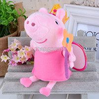 Wholesale 2014 New Peppa Pig Toys Plush Family George Peppa Pig Friends Plush Doll Stuffed Toy Birthday Gift Kids Brinquedos SV0048473