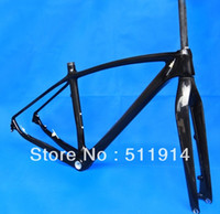 Wholesale FLX FR full carbon UD Glossy mountain bike bicycle MTB ER frame Fork headset quot quot