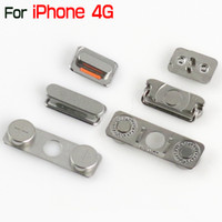 Wholesale Original New Complete Side Buttons Power Volume Mute Switch Key Set For iPhone