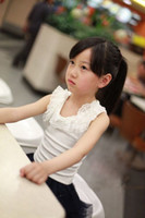 Cheap children lace vest Best children T Shirt