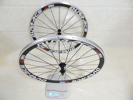 Wholesale 2015 hot sale R36 hubs alloy brake surface bike wheels carbon road bike wheels mm wheelset white rim wheels made in china