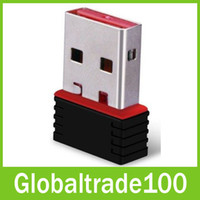 Wholesale Wifi Wireless USB Nano Adapter Mbps IEEE n g b Mini Adaptor Network Card Free DHL Shipping