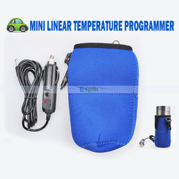 Wholesale 12V Mini Linear Temperature Programme Baby Food Milk Bottle Warmer Heater For Universal Car Charger Portable