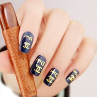 Wholesale Stunning gilt metal nail stickers nail decals affixed watermark DIY nail stickers nail jewelry xiaokang