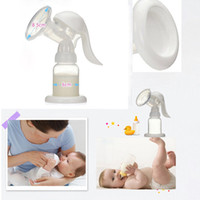 Wholesale Rational Design Baby Products feeding breast pumps Baby Milk bottle nipple with sucking function Hand type breast pump