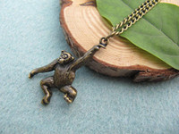 barrel of monkeys - Monkey Necklace Barrel Of Monkeys Chimpanzee Necklace Free Gift With Purchase