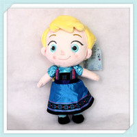 Wholesale PC CM Frozen childhood Plush Elsa Anna baby plush Soft Toy frozen princess Brinquedos Kids Dolls for Girls