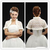 best bridal shops - No Risk Shopping Modern Best Selling Lace And Fur Short Sleeve Wraps Cape Shrug Shawl Bridal Wraps Jackets