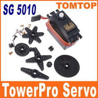 Cheap SG 5010 TowerPro Torque Coreless Servo for RC Plane Helicopter Car freeshipping wholesale