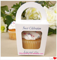 Wholesale Wedding Tote Cupcake Boxes Party Treats Box Favor Box JCO