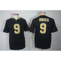 Cheap 2014 New Style #9 Drew Bress Black American Football Jerseys Youth Limited Football Jerseys Cheap Football Kits Mix Order Teams Sportswear