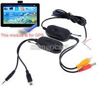 Voiture DVR sans fil 2,4 GHz kit émetteur-récepteur vidéo rca pour moniteur de voiture pour relier l'arrière de la voiture vue arrière de sauvegarde de la caméra n ° 10 14741